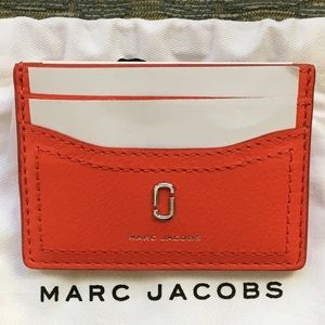 🌟Marc 🌟Jacobs 🌟🌹RED🌹card carrier ✨🌟💐‼️